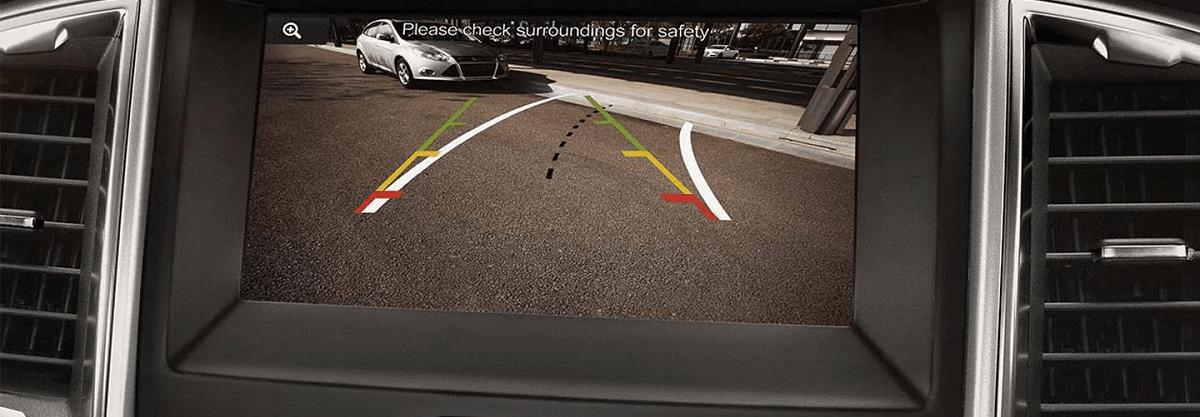 Camera lùi của ford ranger 2021