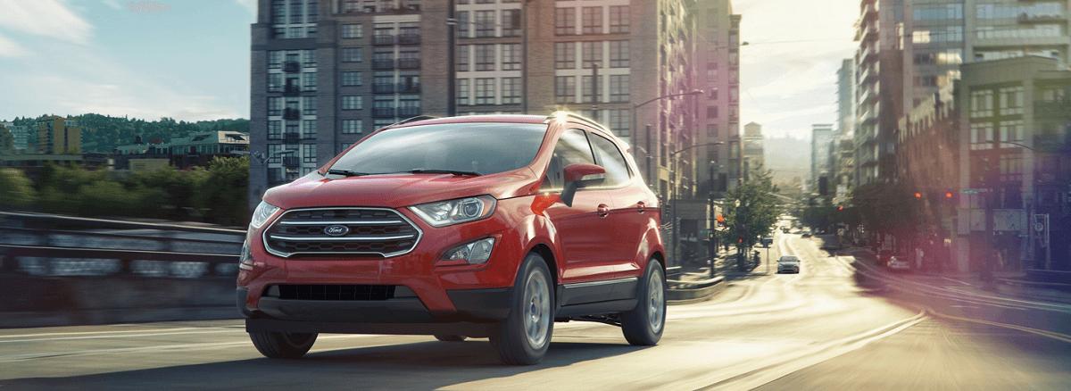 Ford Ecosport 2021 mới màu đỏ