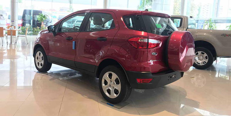 Ford Ecosport Ambiente AT màu Đỏ
