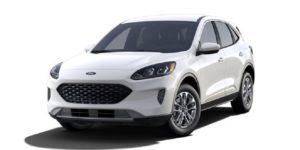 Ford Escape Ambiente 2021 màu trắng