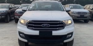 Ford Everest Ambiente MT mầu trắng 2021