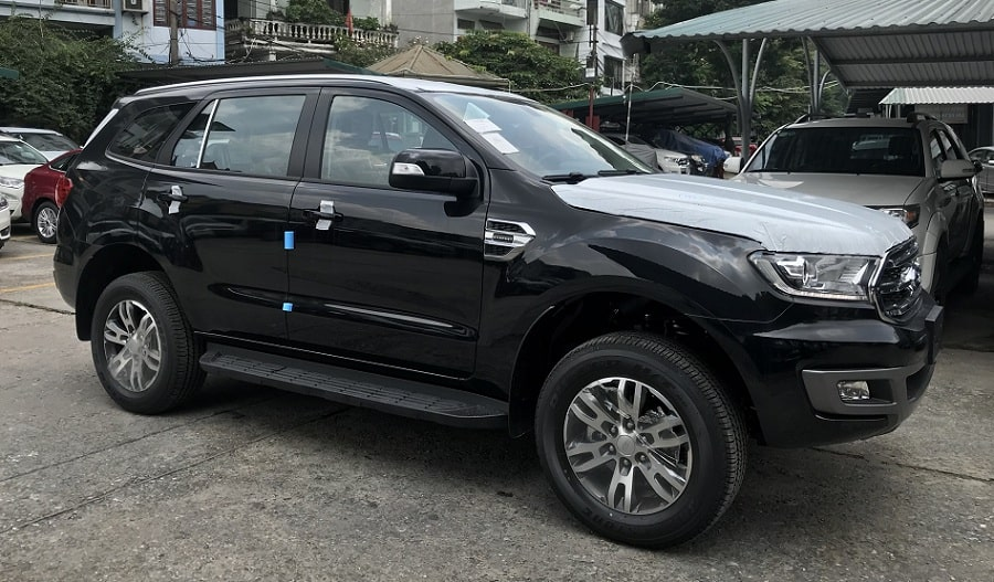 Ford Everest Trend 2.0L AT Màu Đen