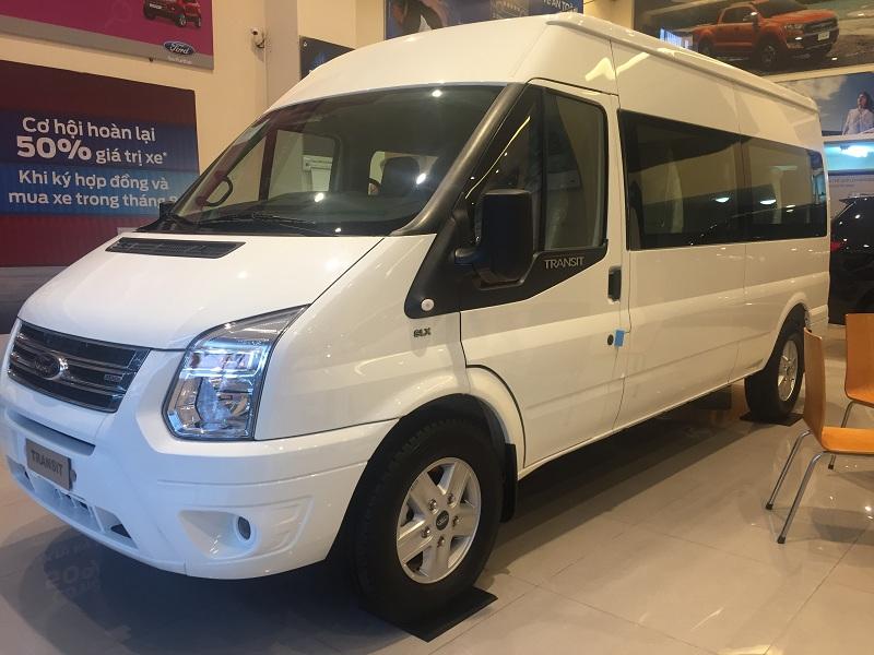 Ford Transit SVP Tiêu Chuẩn Màu Trắng 2021