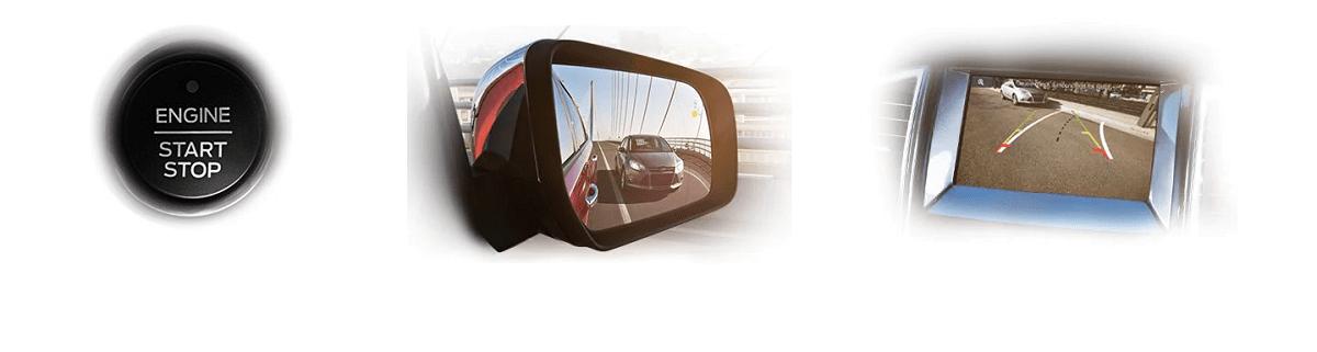 Khởi động bằng nút bấm, điểm mù trên ghương, cameraluif của ford everest 2021
