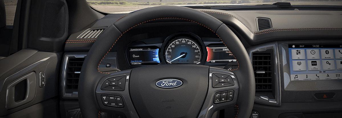 Tai lí chợ lực điện của Ford Ranger 2021