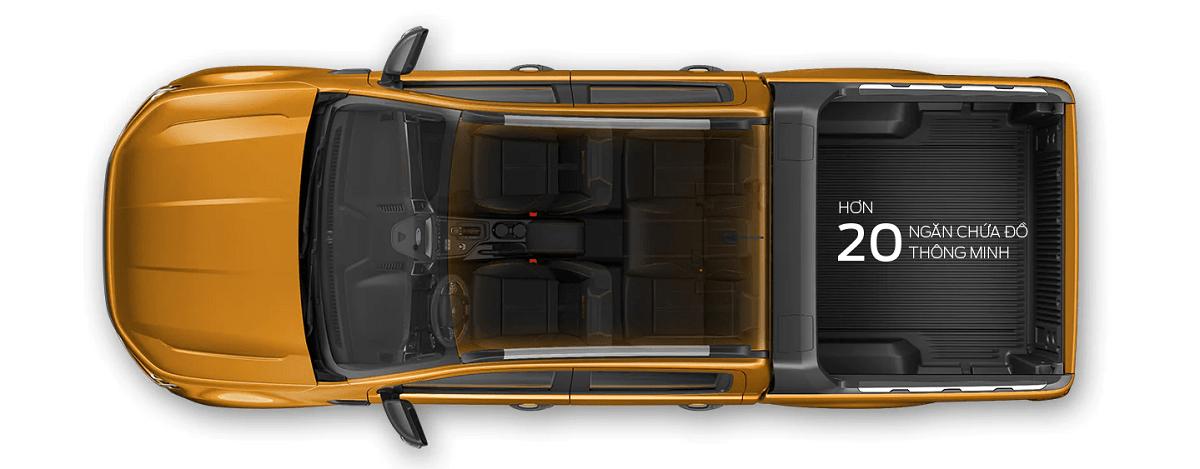 Thiết kế mới của Ford Ranger 2021
