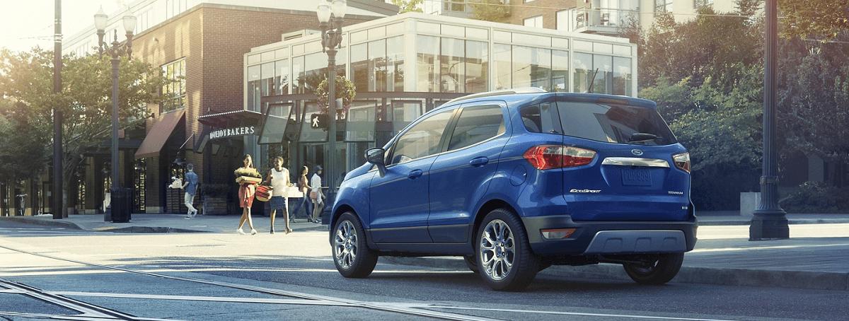 Công nghệ Tự động dừng - nổ máy thông minh Ford Ecosport 2021
