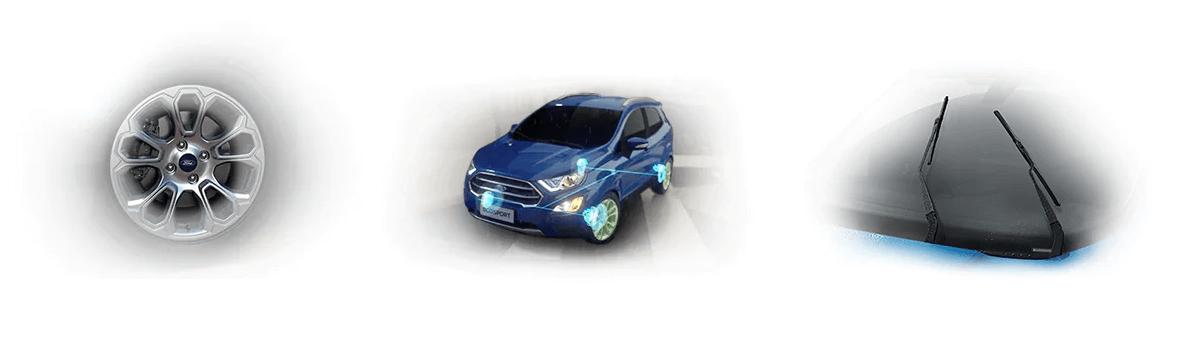 Tiện nghi bên ngoài thông minh của Ford Ecosport 2021