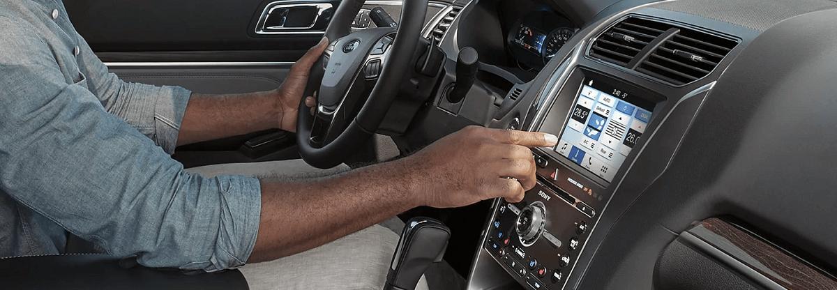 Ford Explorer 2021 Hệ thống kết nối thông minh SYNC™ 3 thế hệ mới