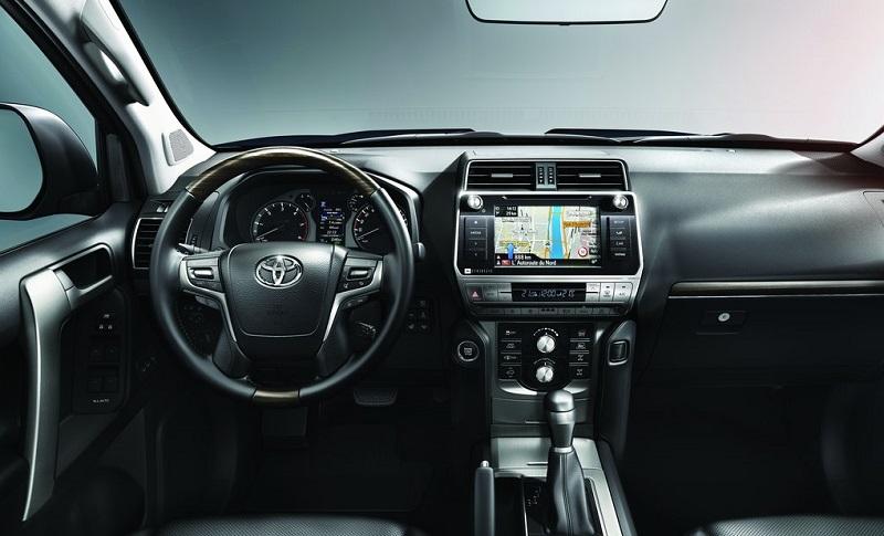 Nội Thất Toyota Land Cruisr Prado 2021