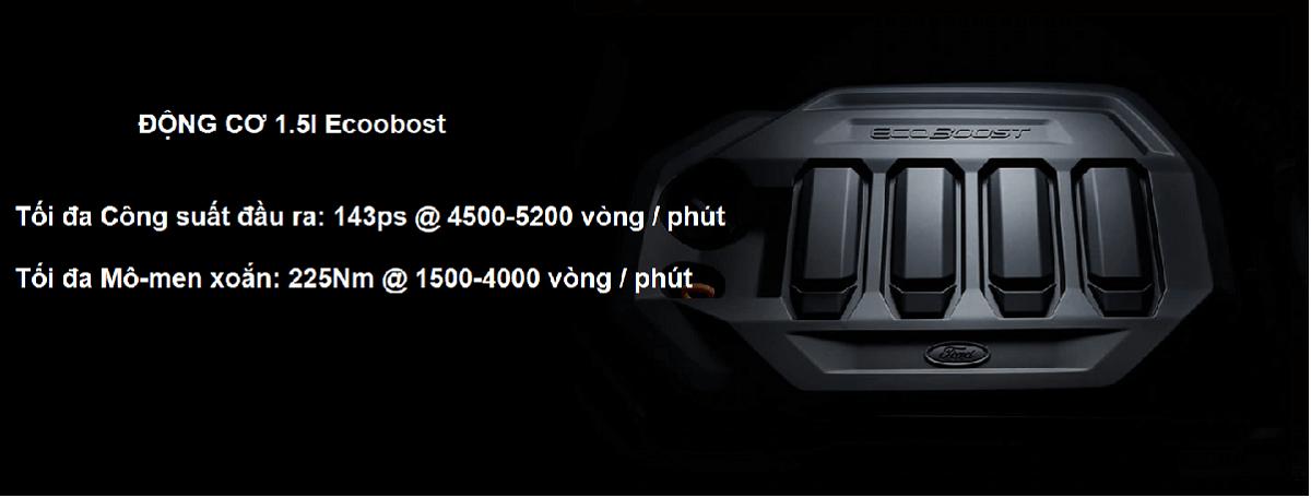 động cơ 1.5L Ecoboost mới trên xe Ford Territory 2021