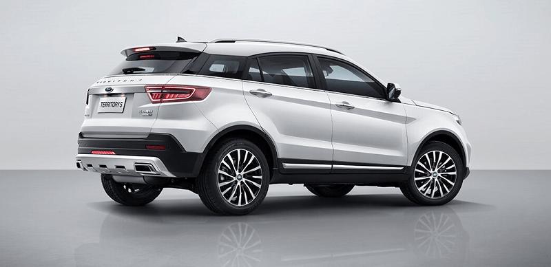 Ford Territory Trend Màu trắng 2021