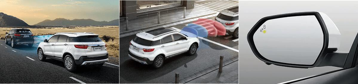 Hệ thống an toàn của xe Ford Territory 2021 mới