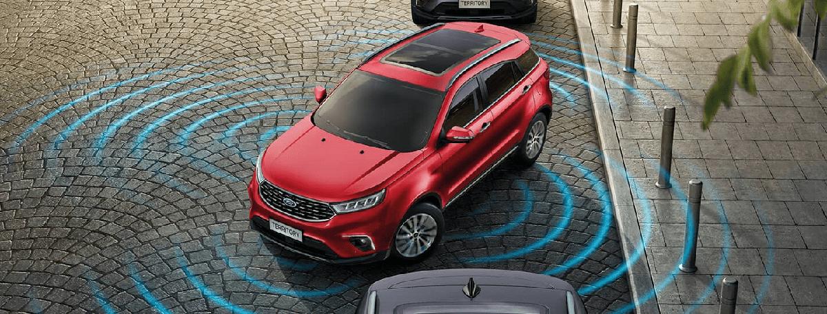 Với Camera 360 hỗ trợ đỗ xe tự động tốt hơn với ford territory 2021