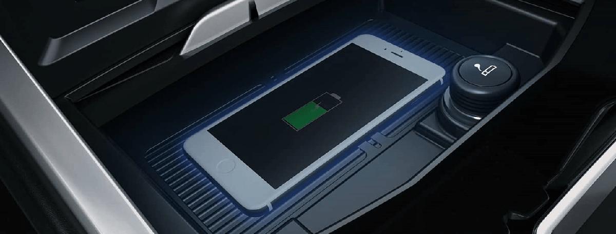 Hỗ trợ sạc không dây cho điện thoại của ford territory 2021