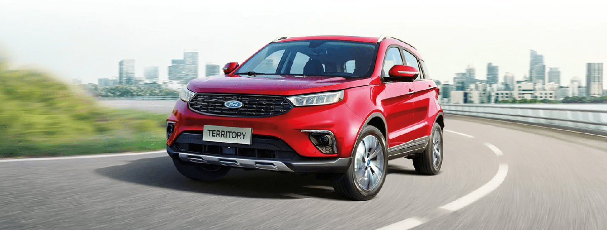 Ford Territory 2021 mới ra mắt tại Việt Nam