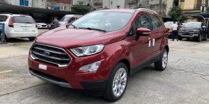 ford Ecosport Titanium 1.5L 2021 2022 màu đỏ tại ford hà đông