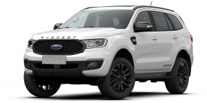 xe ford Everest 4wd Sport 2021 màu trắng