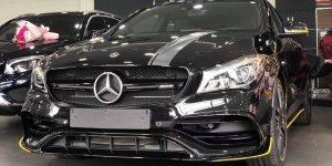 xe mercedes-benz cla 45 2021 2022 moi màu đen