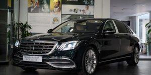 xe mercedes maybach s450 2021 2022 moi màu đen