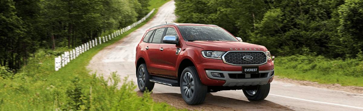 Di chuyển êm ái với Ford Everest 2022