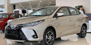 Ngoại thất Toyota Vios 2022 2023 màu ghi vàng