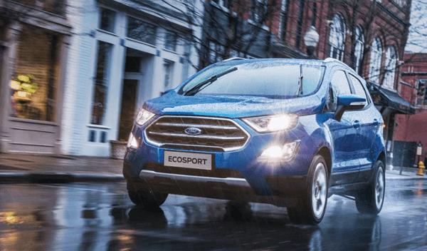 đèn chiếu sáng thông minh của Ford EcoSport 2022
