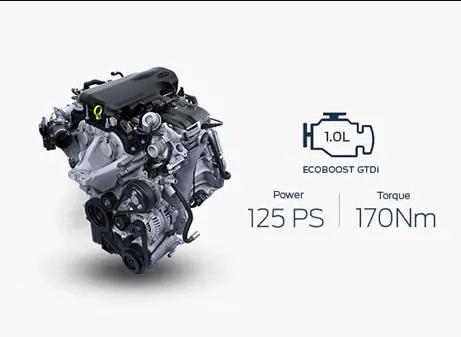 Động cơ 1.0L EcoBoost của Ford EcoSport 2022 Mới